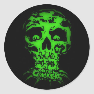 JJ and The Chokers Classic Round Sticker