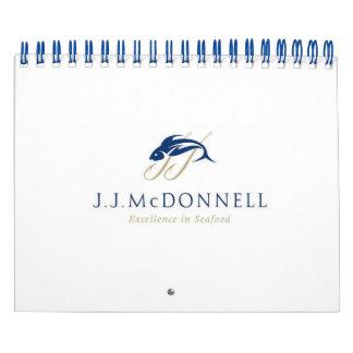JJ McDonnell Seafood Calendar