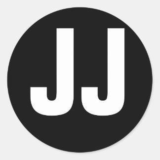 JJ Tribute Classic Round Sticker