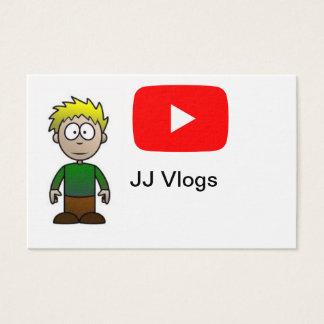 JJ Vlogs buissnes cards