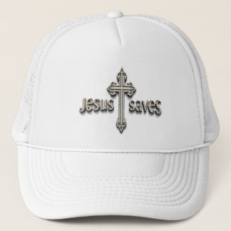 Jjesus Saves 3 Trucker Hat