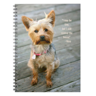 "jjhelene Yorkshire Terrier ""Nina"" - Notebook"