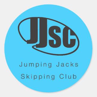 JJSC Logo Stickers x 20 - Blue