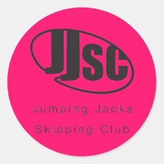 JJSC Logo Stickers x 20 - Red