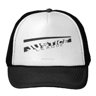 JL B W Skewed Trucker Hats
