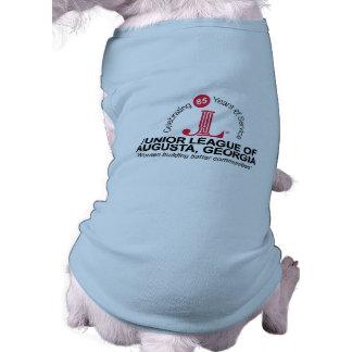 JLA 85th Doggie Ribbed Tank Top Sleeveless Dog Shirt