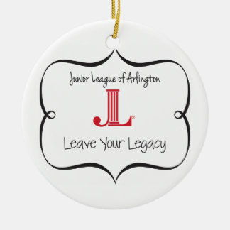 """JLA """"Leave Your Legacy"""" Ornament"""