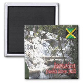 JM - Jamaica - Dunn's River Falls Square Magnet