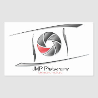 JMP Photography sticker rectangle