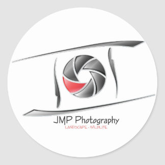 JMP Photography sticker round