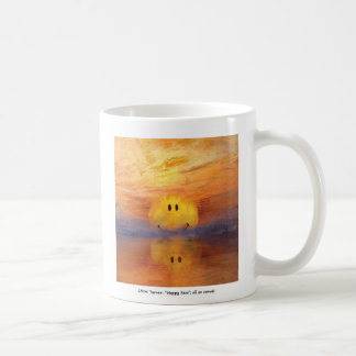 jmw turner happy face coffee mug