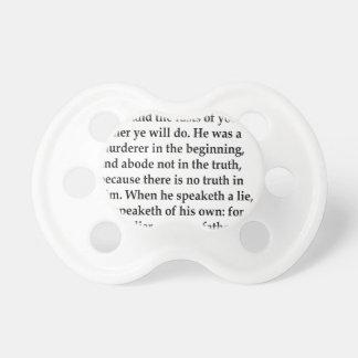 Jn. 8:44,w pacifiers