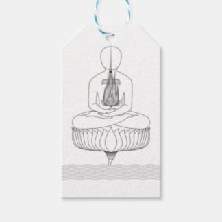 Jnanarnava Meditation Pose with Fire Gift Tags