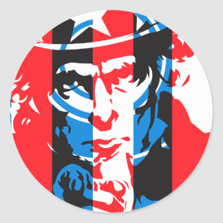 JNS Conspiracy Theory Classic Round Sticker