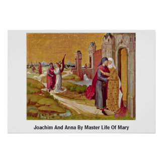 Joachim And Anna By Master Life Of Mary Poster