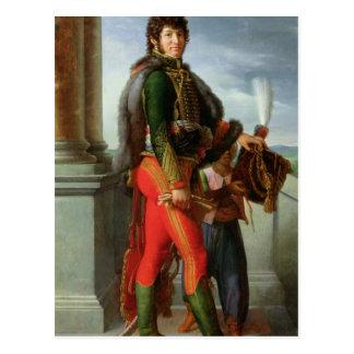 Joachim Murat  1801 Postcard