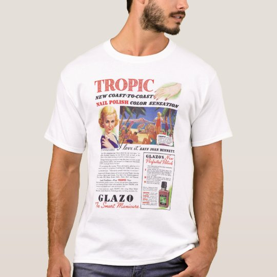 Joan Bennett Nail Polish Ad T-Shirt