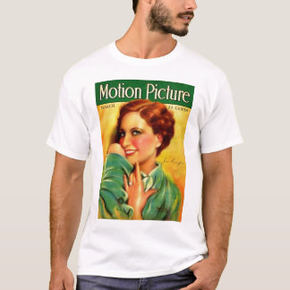 Joan Crawford 1928 movie magazine T-Shirt