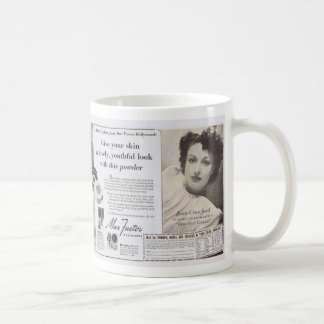 Joan Crawford Max Factor Ad Coffee Mug