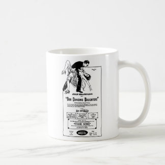 Joan Crawford OUR DANCING DAUGHTERS 1928 Coffee Mug