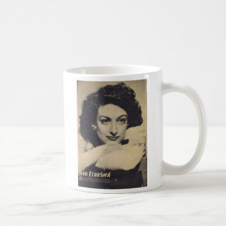Joan Crawford vintage portrait Coffee Mug