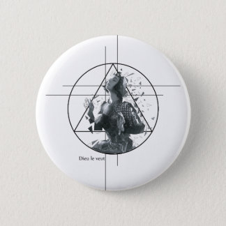 Joan d'Arc 6 Cm Round Badge