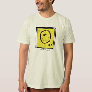 joan miro happy face t shirt