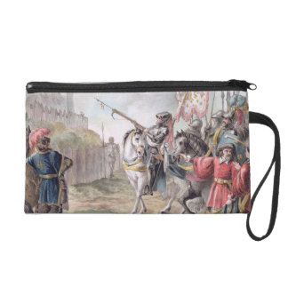 Joan of Arc (1412-31) Orders the English to Leave Wristlet Purse