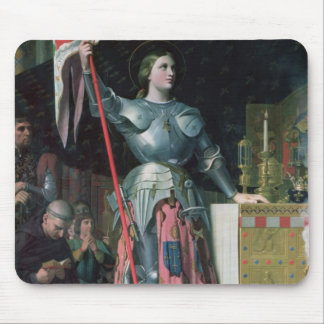 Joan of Arc  at the Coronation of King Charles Mouse Pad