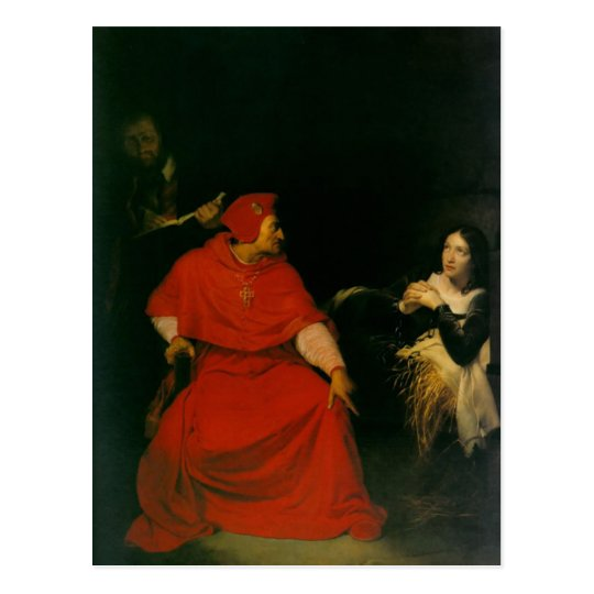 'Joan of Arc Being Interrogated' Postcard