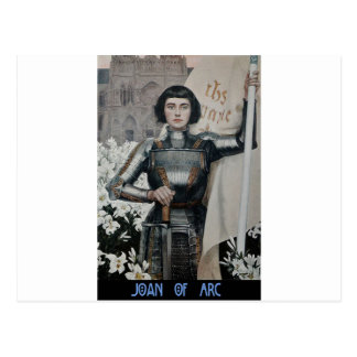 Joan of Arc by Albert Lynch Postcard