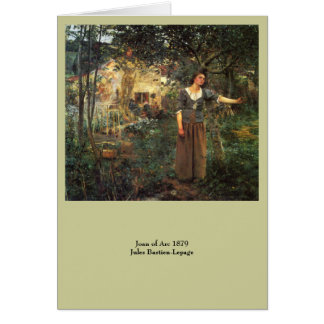 Joan of Arc by Jules Bastien Lepage Card