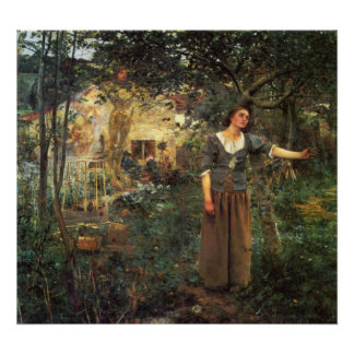 Joan of Arc by Jules Bastien Lepage Poster