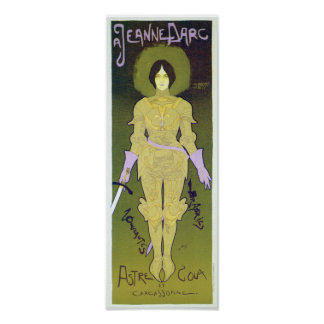 Joan of Arc Costumes Advertising Poster