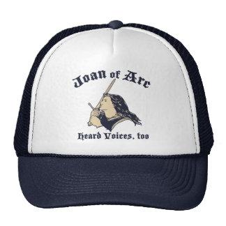 Joan of Arc Heard Voices Cap