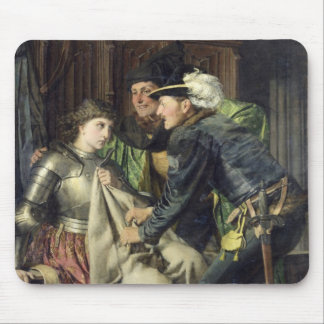 Joan of Arc  Insulted in Prison, 1866 Mouse Pad