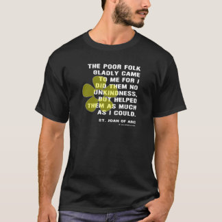 Joan of Arc Kindess T-Shirt