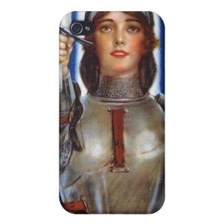 Joan of Arc World War I Buy War Saving Stamps iPhone 4 Cover