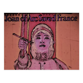 Joan of Arc WWII Buy Bonds Postcard