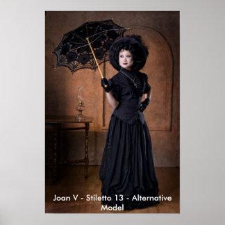 Joan V - Stiletto 13 - Alt Model Poster