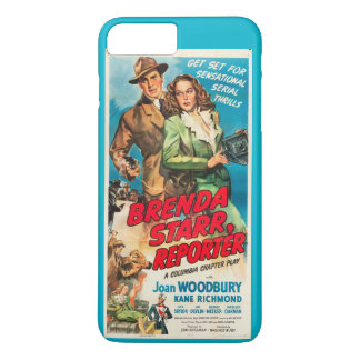 Joan Woodbury Brenda Starr film ad iPhone 7 Plus Case