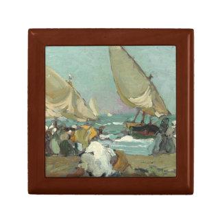 Joaquin Sorolla - Boats on the beach of Valencia Gift Box