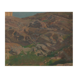Joaquin Sorolla - Castle of San Servando, Toledo Wood Wall Art