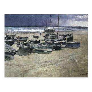 Joaquin Sorolla - Day of the Storm, Valencia Postcard