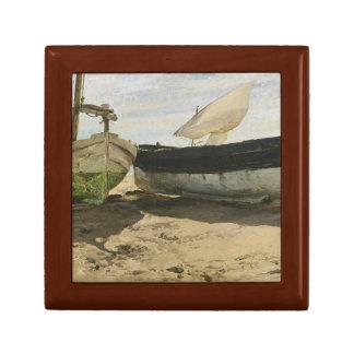 Joaquin Sorolla - Fishing boats on the beach Gift Box