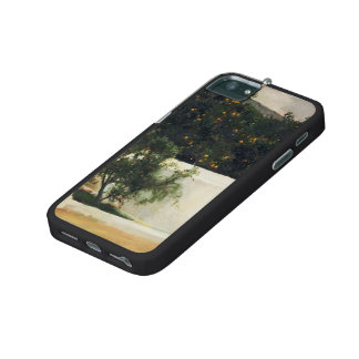 Joaquín Sorolla- Orange trees on road to Seville iPhone 5/5S Cover