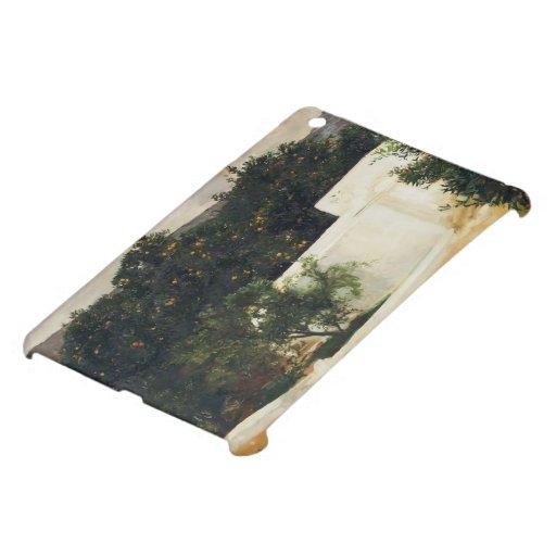 Joaquín Sorolla- Orange trees on road to Seville iPad Mini Cases
