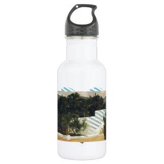 Joaquín Sorolla- Orange trees on road to Seville 532 Ml Water Bottle