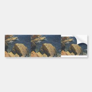 Joaquín Sorolla- Rocks of the Cape, Javea Bumper Sticker