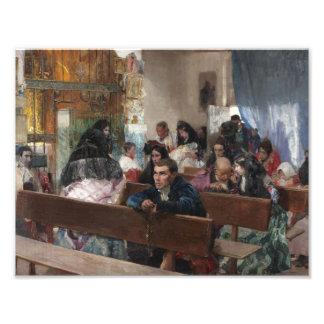 Joaquin Sorolla - The Baptism Photo Print